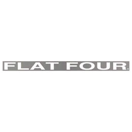 FLAT FOUR クリアー デカール