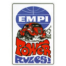 """EMPI POWER RULES"" デカール"