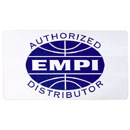 """EMPI AUTHORIZED DISTRIBUTOR""デカール"