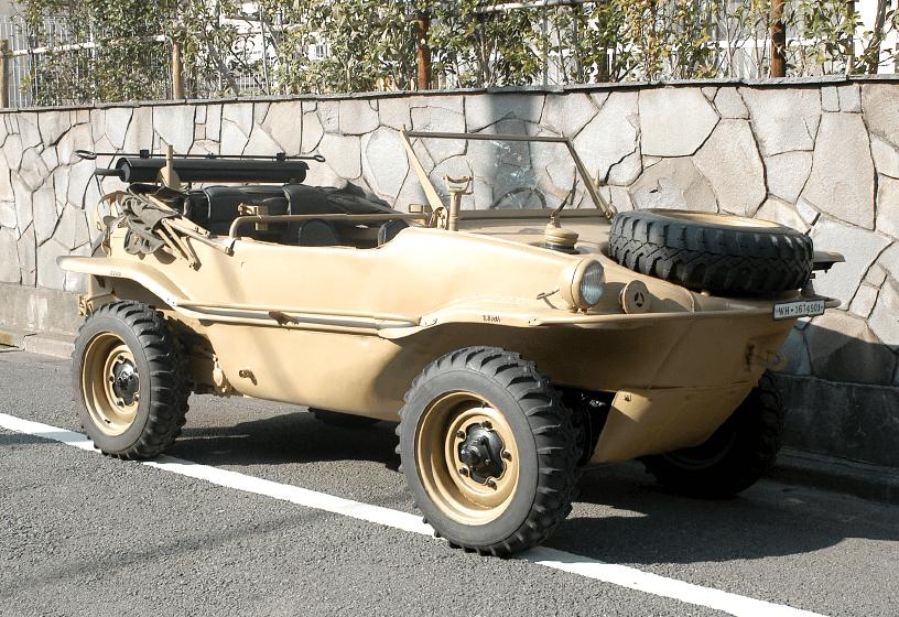 1944 TYPE-166 SCHWIMMWAGEN