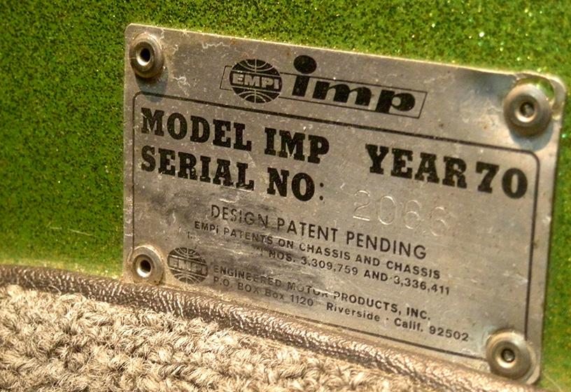 1970 EMPI imp BUGGY