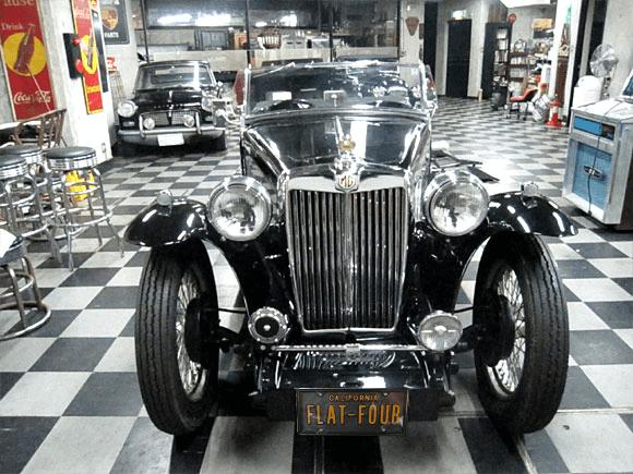 1946 MG-TC Roadster