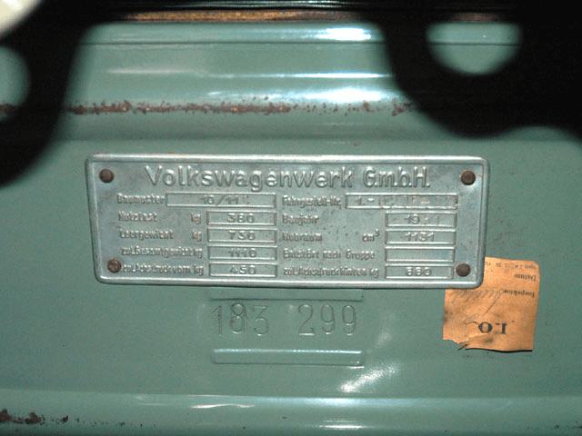 1951 TYPE-1 SPLIT